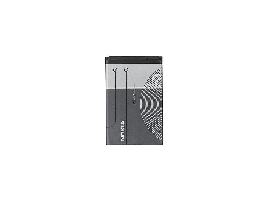 Аккумулятор Nokia BL-4C, Li-Ion, 860 мАч
