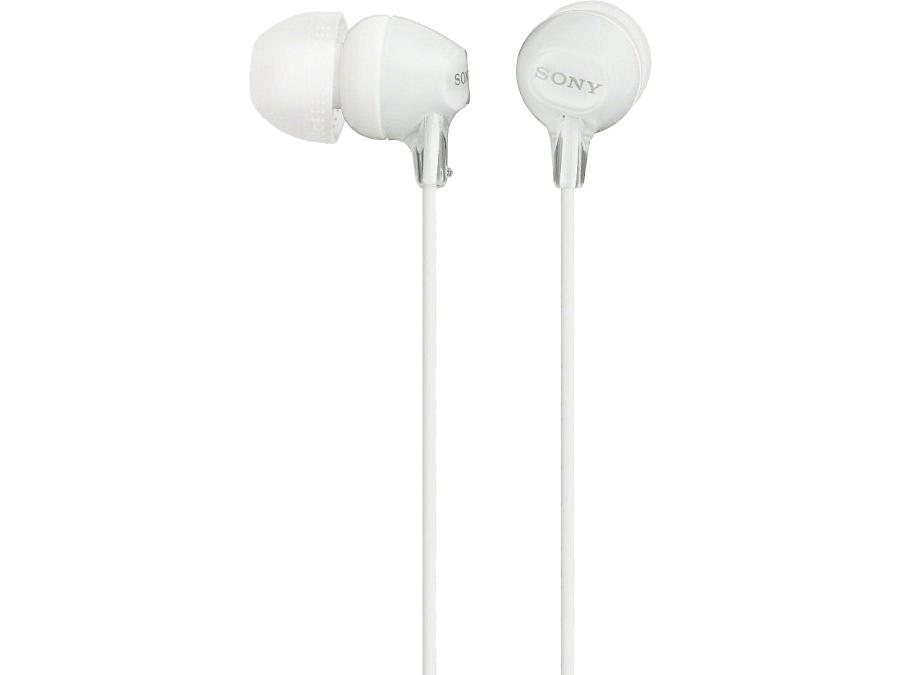 Наушники Sony MDR-EX15LP, стерео (белые)